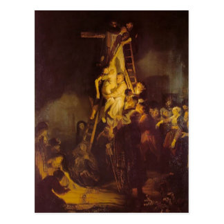 Rembrandt- The Descent from the Cross Postcard