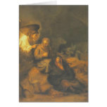 Rembrandt- The Dream of St. Joseph Cards