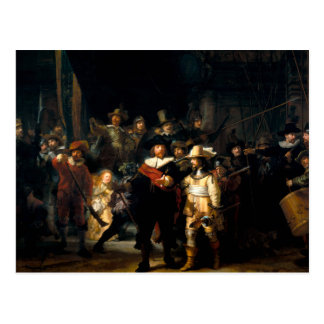 Rembrandt The Night Watch Postcard