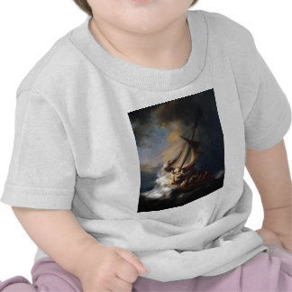 Rembrandt The Storm on the Sea of Galilee Shirt