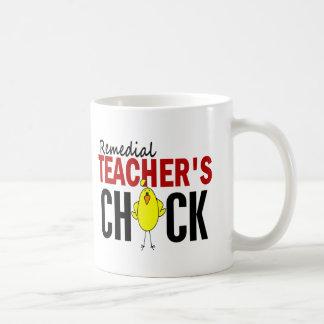 REMEDIAL TEACHER'S CHICK COFFEE MUG