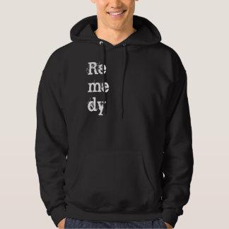 Remedy black hoodie