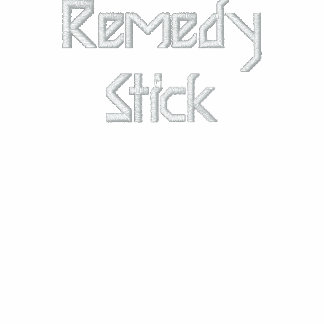 Remedy Stick Embroidered Hooded Sweatshirt