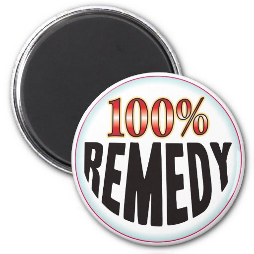 Remedy Tag Refrigerator Magnets
