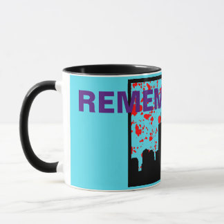 Remember 911 BLUE MUG