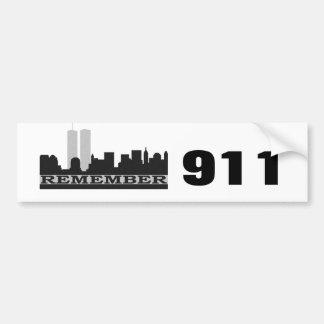 Remember 911 Bumper Sticker