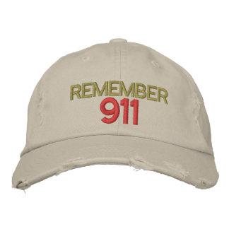 REMEMBER 911 - Customizable Baseball Cap