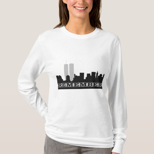 Remember 911 ladies Long Sleeve T-Shirt