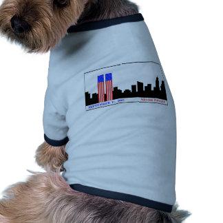 Remember 9-11-01 doggie tee