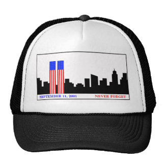 Remember 9-11-01 hats