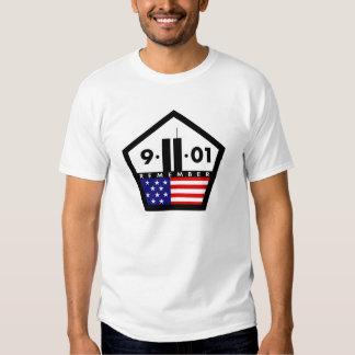 Remember 9-11-01 tshirts