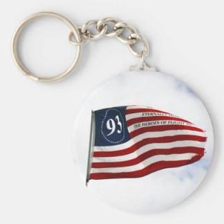 Remember 9/11 - Flight 93 Basic Round Button Key Ring