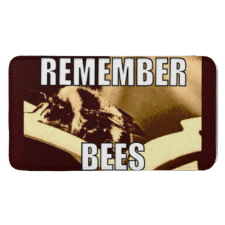 Remember Bees Smart Phone Pouch