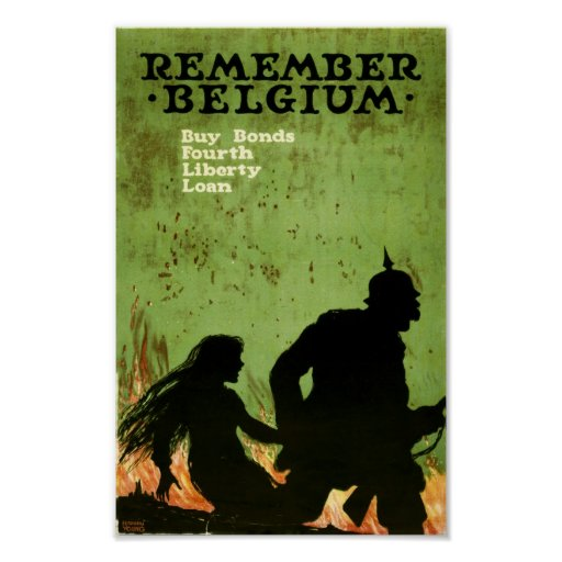 Remember Belgium Poster