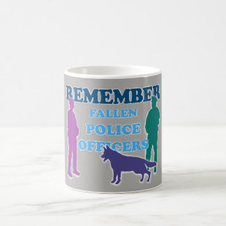 REMEMBER Fallen Police Officers Coffee Mug