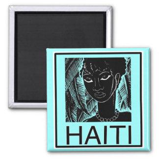 Remember Haiti Square Magnet