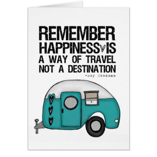remember happiness greeting card