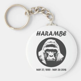 Remember Harambe Key Ring