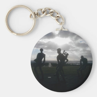 Remember Iceland Key Chain