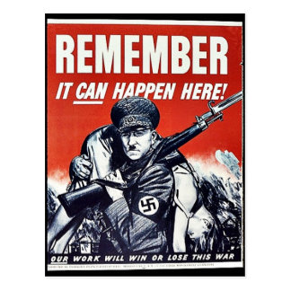 Remember It Can Happen Here Post Card
