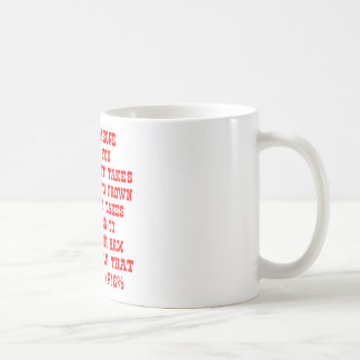 Remember It Only Takes Four Muscles To Bitch-Slap Basic White Mug