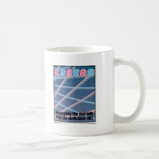 Remember Lasers?!? Classic White Coffee Mug
