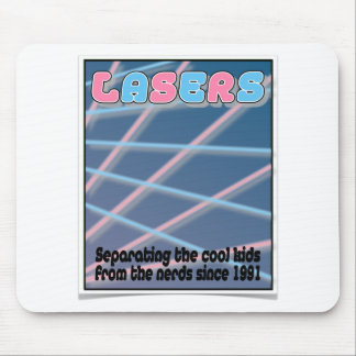 Remember Lasers Mouse Mats