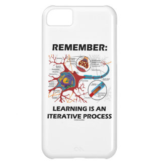Remember: Learning Is An Iterative Process Synapse iPhone 5C Case