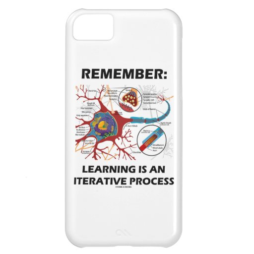 Remember: Learning Is An Iterative Process Synapse iPhone 5C Covers