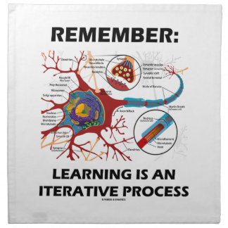 Remember: Learning Is An Iterative Process Synapse Cloth Napkins