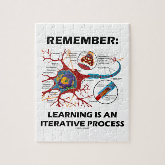 Remember: Learning Is An Iterative Process Synapse Puzzles