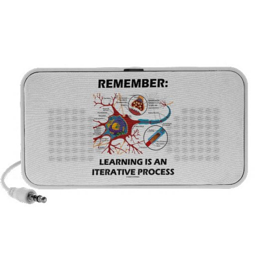 Remember: Learning Is An Iterative Process Synapse Portable Speaker