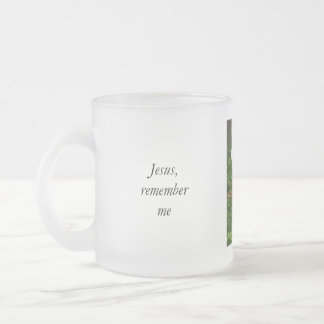 Remember Me Frosted Glass Mug