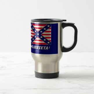 REMEMBER MURRIETA IMMIGRATION STAINLESS STEEL TRAVEL MUG