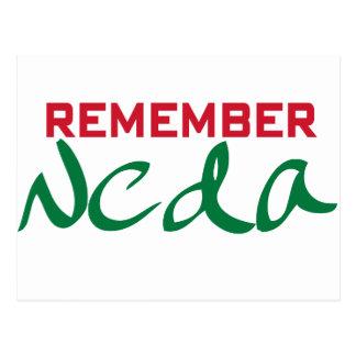 Remember Neda (Iran) Postcard