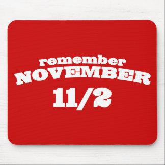 Remember November 11/2 Mouse Pad