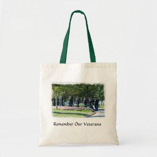 Remember Our Veterans Tote Bags