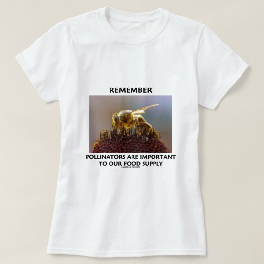 Remember Pollinators Are Important To Food Supply T-Shirt