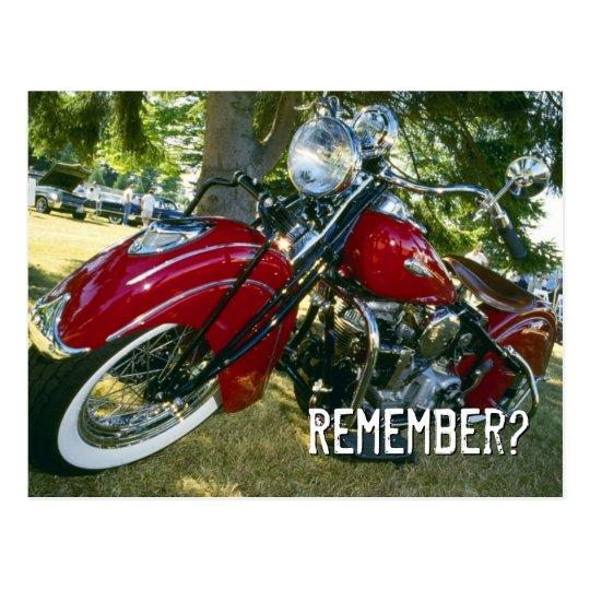 Remember? - Postcard
