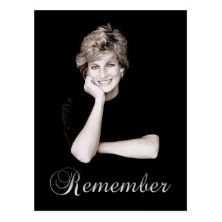 Remember Princess Diana Postcard
