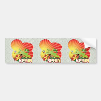Remember SPAIN world Cup 2010 Champions Bumper Stickers