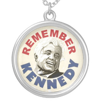 Remember Ted Kennedy necklace