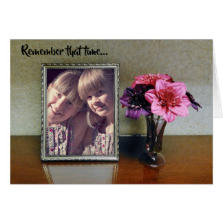 Remember That Time Card: Picture Frame Card