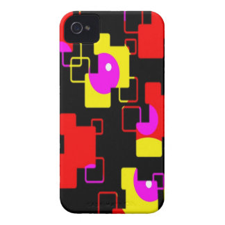 remember the 60s and 70s pink red retro pattern iPhone 4 cover