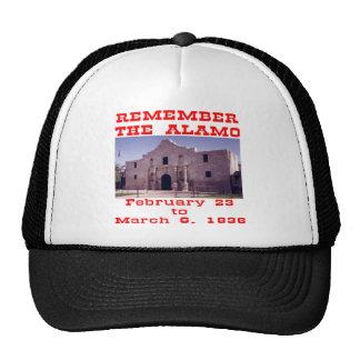 Remember The Alamo  #001 Cap