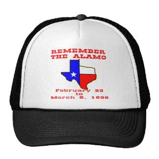 Remember The Alamo  #003 Cap