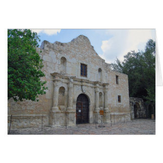 """Remember the Alamo"" Greeting Card"