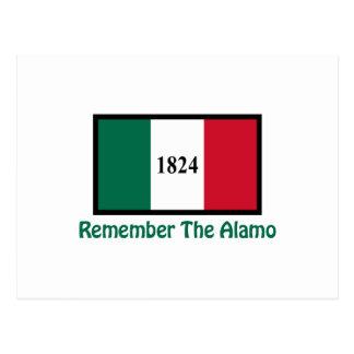 REMEMBER THE ALAMO POSTCARDS