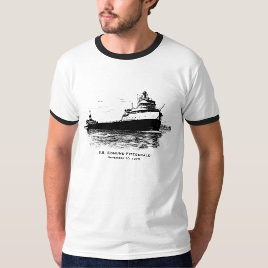 Remember the Crew of the SS Edmund Fitzgerald T-Shirt
