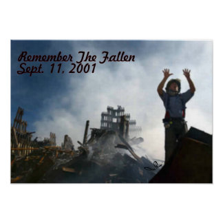 Remember The Fallen Poster
